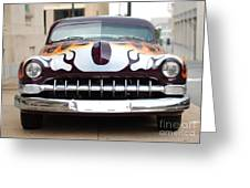 Gangster Car Greeting Card by Jt PhotoDesign
