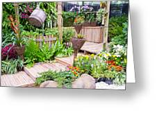 Garden Beautiful Greeting Card by Boon Mee