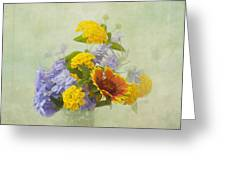 Garden Bouquet Greeting Card by Kim Hojnacki
