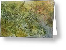 Garden Mist Greeting Card by Patsy Sharpe