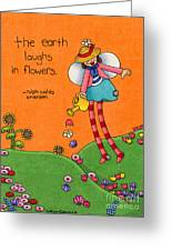 Gardener Angel Greeting Card by Sarah Batalka