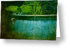 Gardenscape Greeting Card by Amy Weiss