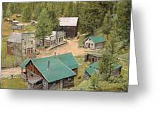 Garnet In Montana Greeting Card by Guido Borelli