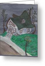 Gaslight Whimsy Greeting Card by Robert Meszaros