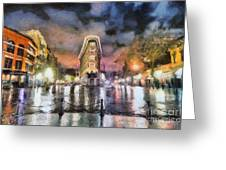 Gastown Greeting Card by Jim  Hatch