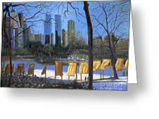 Gates Of New York Greeting Card by Marlene Book