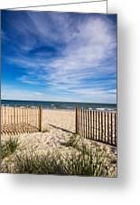 Gateway To Serenity Myrtle Beach Sc Greeting Card by Stephanie McDowell