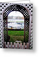 Gateway To The Sea Greeting Card by Will Boutin Photos