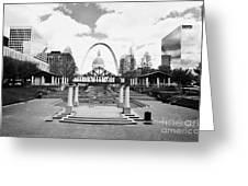 Gateway To The West 2 Greeting Card by Rachel Barrett