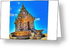 Gedong Songo (indonesian: Candi Gedong Greeting Card by Tommy Tjahjono