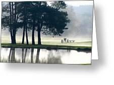 Genegantslet Golf Club Greeting Card by Christina Rollo