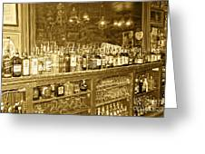 Genoa Bar Oldest Saloon In Nevada's Old West History Greeting Card by Artist and Photographer Laura Wrede