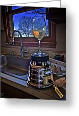 Gentlemen Start Your Blenders Greeting Card by Mark Miller