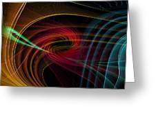 Geometric 8 Greeting Card by Mark Ashkenazi