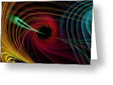 Geometric 9 Greeting Card by Mark Ashkenazi