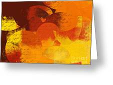 Geomix 05 - 01at02 Greeting Card by Variance Collections