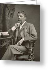 George Du Maurier Greeting Card by Stanislaus Walery