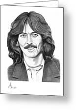 George Harrison Greeting Card by Murphy Elliott