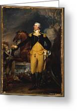 George Washington Before The Battle Of Trenton Greeting Card by John Trumbull