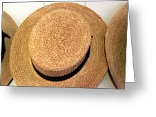 George Wilcox Hat Greeting Card by Dick Willis