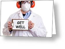 Get Well Greeting Card by Edward Fielding