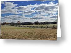 Gettysburg Battlefield - Pennsylvania Greeting Card by Brendan Reals