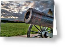 Gettysburg Canon Closeup Greeting Card by Andres Leon
