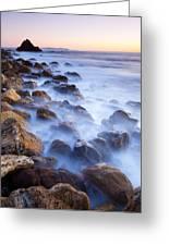 Ghost Coast Greeting Card by Adam Pender