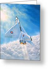 Ghost Flight Rl206 Greeting Card by Michael Swanson