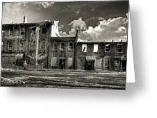 Ghost Of Our Town Greeting Card by Jaki Miller