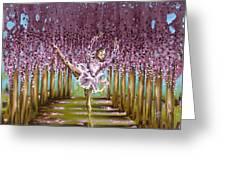 Blossom Greeting Card by Karina Llergo Salto