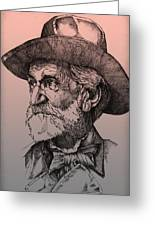 Giuseppe Verdi Greeting Card by Derrick Higgins