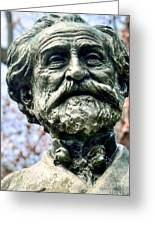 Giuseppe Verdi Greeting Card by Kathleen Struckle