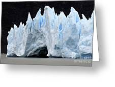 Glaciar Grey Patagonia Chile 3 Greeting Card by Bob Christopher