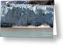 Glacier Bay Alaska Greeting Card by Sophie Vigneault