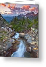 Glaciers Wild Greeting Card by Darren  White