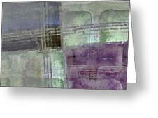 Glass Crossings Greeting Card by Carol Leigh