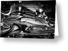 Glass Macro Rgo1ce Greeting Card by David Patterson