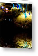 Glass Sculpture Reflections Greeting Card by Amy Cicconi