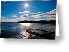 Glen Cove Maine Greeting Card by Melanie Leo