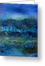 Glimmer Of Dawn Greeting Card by Trudi Doyle