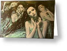 Glissando Greeting Card by Dorina  Costras