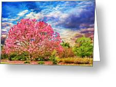 Glorious Spring Greeting Card by Darren Fisher