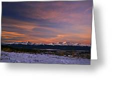 Glow Of Morning Greeting Card by Jeremy Rhoades