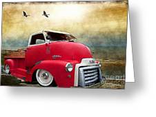 Gmc 350 Greeting Card by Liane Wright