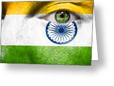 Go India Greeting Card by Semmick Photo
