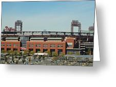 Go Phils Greeting Card by Michael Porchik