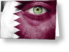 Go Qatar Greeting Card by Semmick Photo