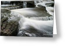 Go With The Flow Greeting Card by Ron Pettitt