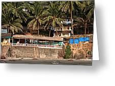 Goa Beach Greeting Card by Oleksii Vovk